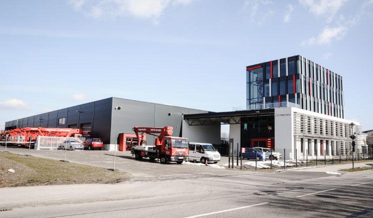Standort Hauptzentrale München-Aschheim
