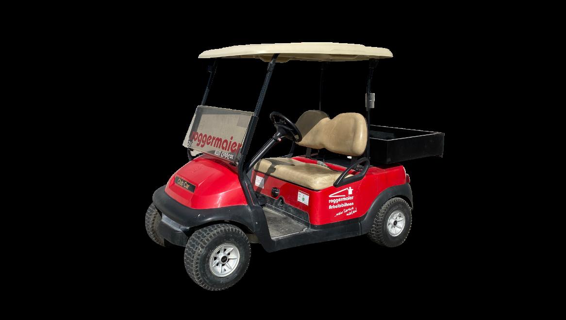 Golf Cart freigestellt