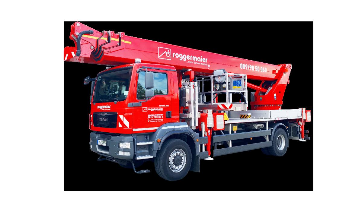LKW Arbeitsbühne über 7,5 t freigestellt