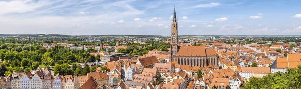 Region Landshut Stadtansicht