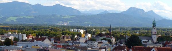 Region Rosenheim Stadtansicht